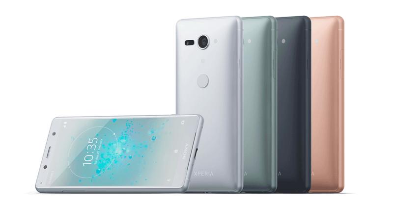 Smartphones Sony Xperia XZ2 Compact