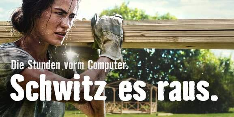 HORNBACH Computer Schwitz es raus