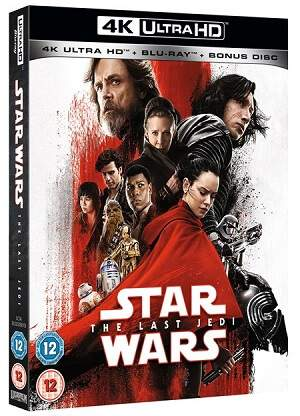 Blu-ray Star Wars 8 4K