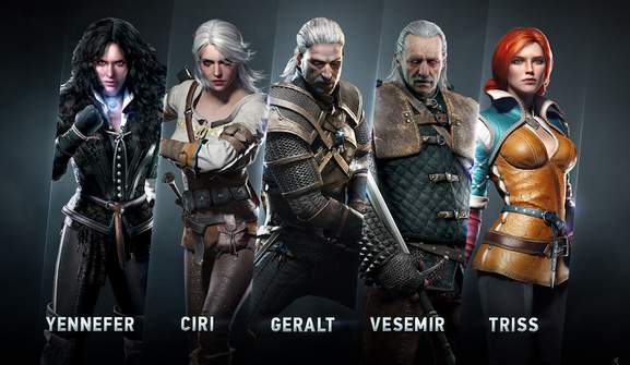 the witcher 3 charakter