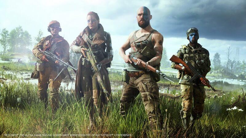 Origin Battlefield V