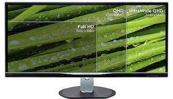 philips monitor ultra wide qhd