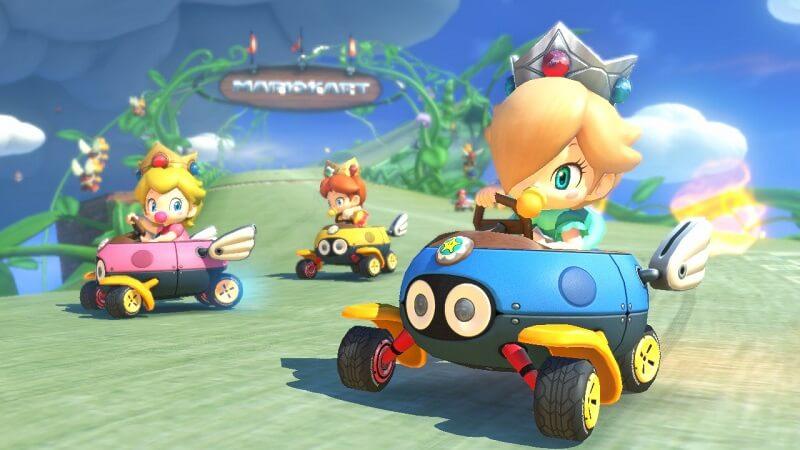 Mario Kart Wii U Princess