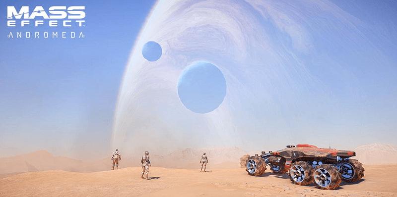 Mass Effect Andromeda Spielwelt
