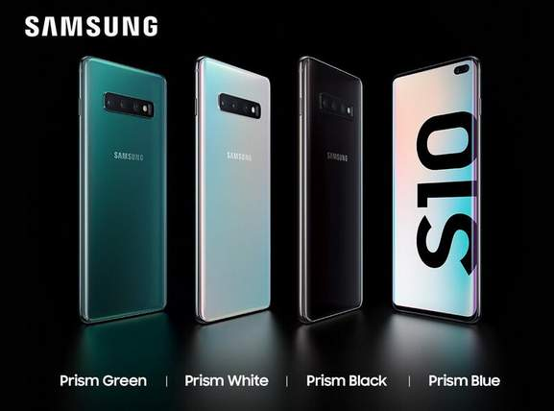 Samsung Galaxy S10 Farben