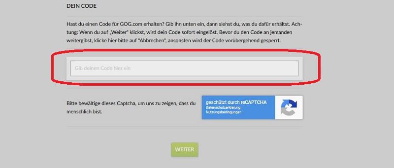 GOG.com Gutscheincode