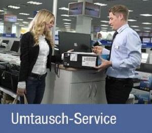 expert Umtausch Service