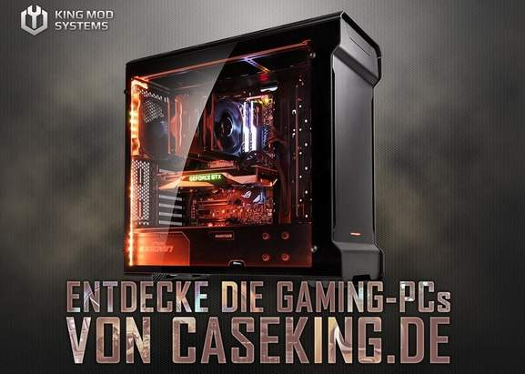 Caseking Gaming PC King Mod