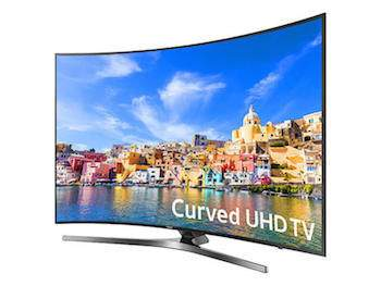 4k curved tv