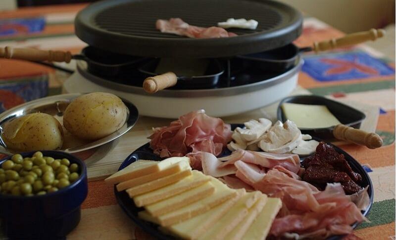 Raclette Zutaten