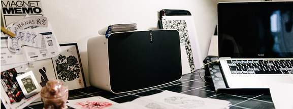 sonos play 5 weiss
