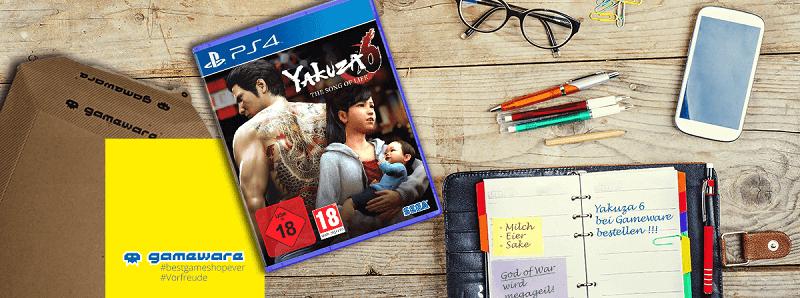 Gameware PS 4 Yakuza 6