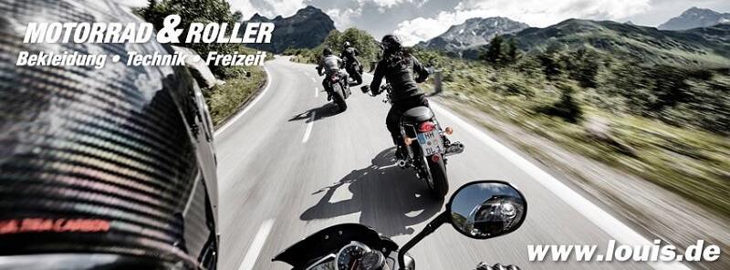 Louis Motorrad und Roller Bekleidung