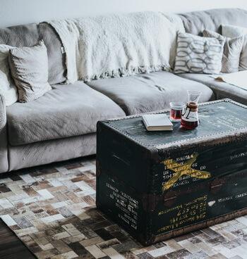 Holz Wohnzimmer Tisch Retro