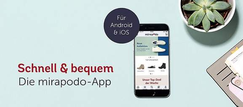 mirapodo Schuh App