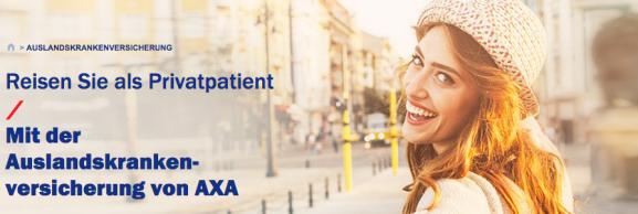 axa auslandskrankenversicherung