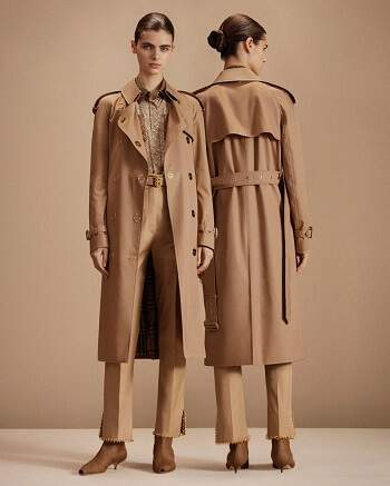 Damenbekleidung Mantel Burberry