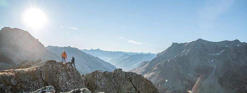 Bergzeit Bergsteigen