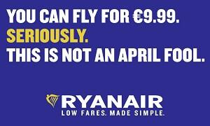 Ryanair Billigflug