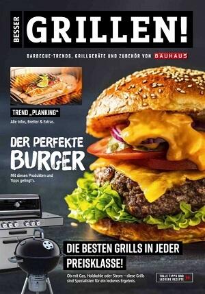 BAUHAUS Burger grillen Fachprospekt