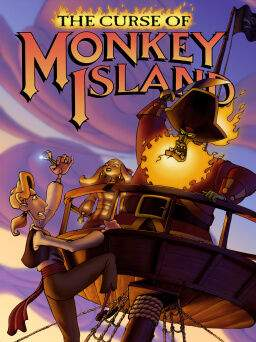 videospiele the curse of monkey island