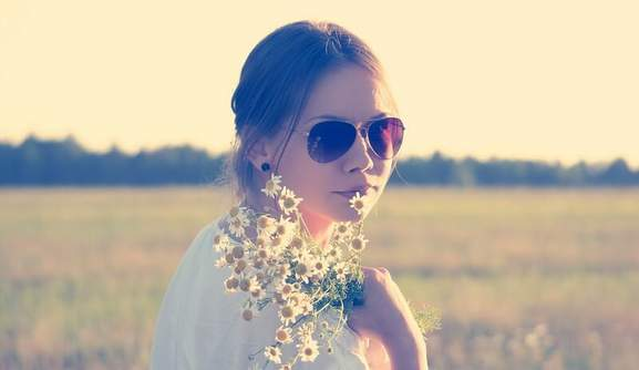 Sonnenbrillen Hippie Style