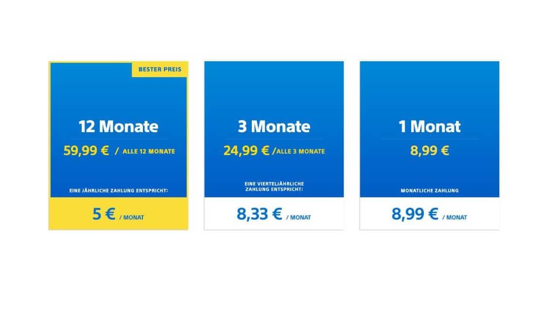 Playstation Plus Mitgliedschaft Gunstig Kaufen Beste Angebote Preise Mydealz De
