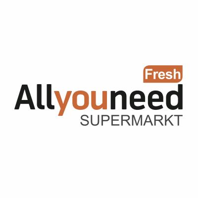 Allyouneed Supermarkt 10€ & Gratis Versand für Neukunden + evtl. Knappenrabatt (4%)