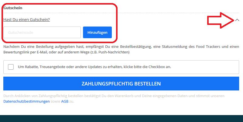 Lieferando.de Gutschein
