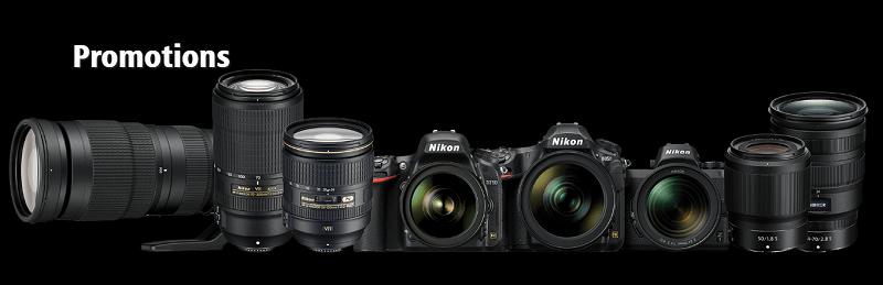 Nikon Store Promotions