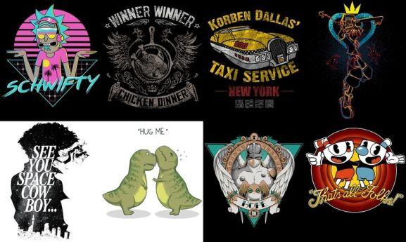 Qwertee T-Shirts
