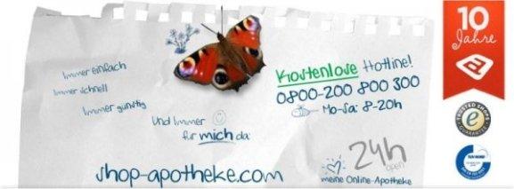 Shop Apotheke online Versandapotheke 10 Jahre