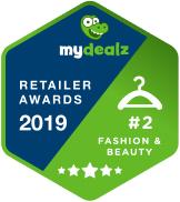 zalando badge für mydealz retailer awards 2019 kategorie fashion & beauty