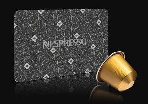 Nespresso Gutscheinkarte