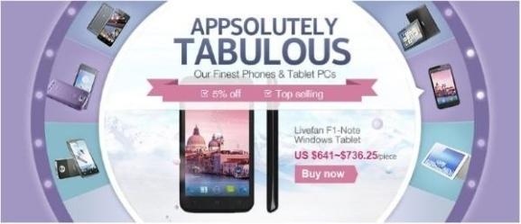 AliExpress Smartphones