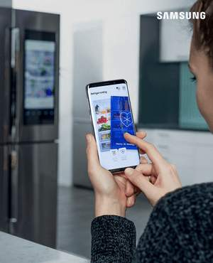 Samsung Shop Smart Home Kuehlschrank