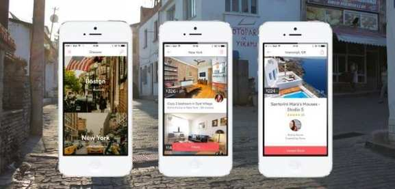 airbnb mobile app