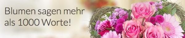 Valentins Blumen sagen mehr als 1000 Worte