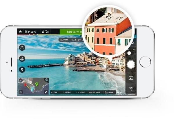 DJI App fürs Smartphone