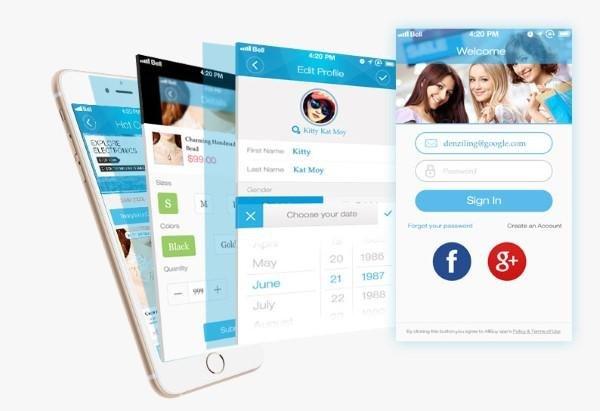 Mobile Apps von allbuy.com