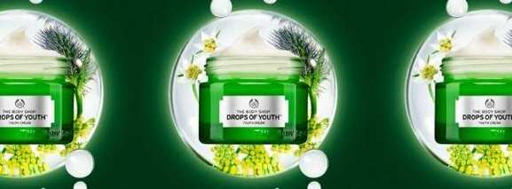 """Die Creme """"Drops of Youth"""""""