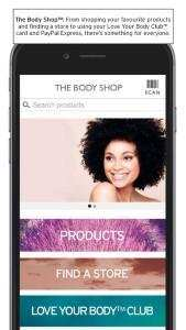 Die App von The Body Shop