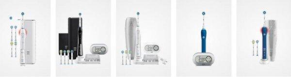 oral b elektrische zahnbürsten