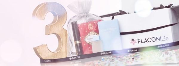 Flaconi Pakete mit Liebe verpackt