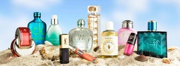 Große Auswahl an Parfüms