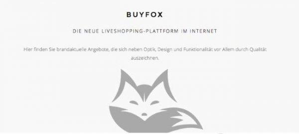 buyfox liveshopping