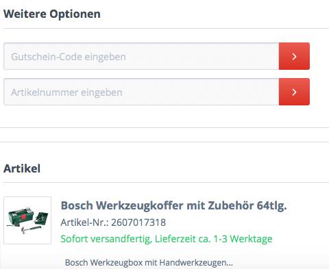 Gutschein im Top12.de Online-Shop einlösen