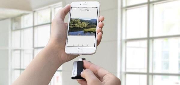 Flash-Laufwerk für Apple Geräte