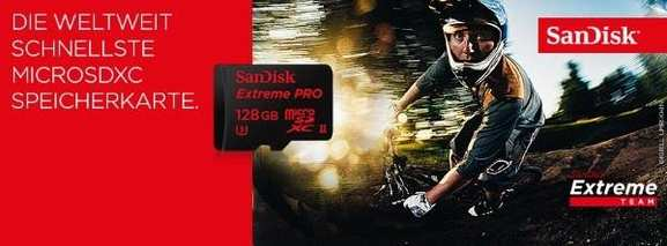 Die microSDXC Speicherkarte