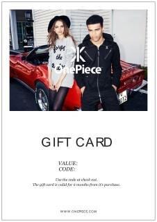 Geschenkkarte für den Online-Shop